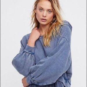 Free People S Sweet Streets Embroidered Hoodie top